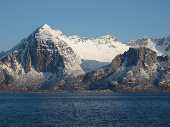 Blick auf die norwegische Küste