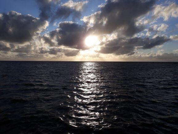 Flut an der Nordsee