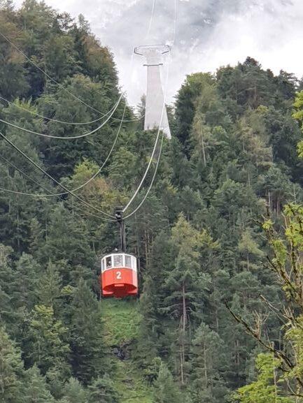 Eine Reise in das Berchtesgadener Land Seilbahn auf den Predigtstuhl